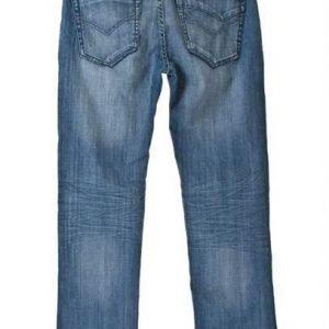 Denim jeans med stretch, ekstra livvidde