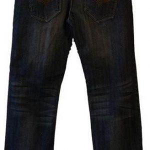 Jeans med stretch og ekstra livvidde